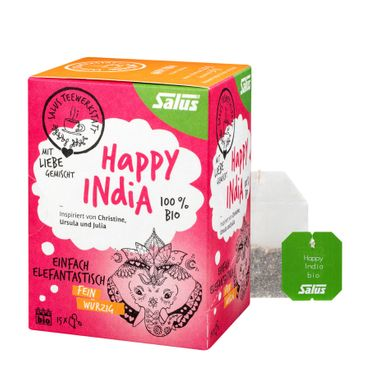 Salus - Happy India fein würziger Tee bio 15 FB