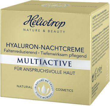 Heliotrop - Multiactive Hyaluron Nachtcreme 50ml