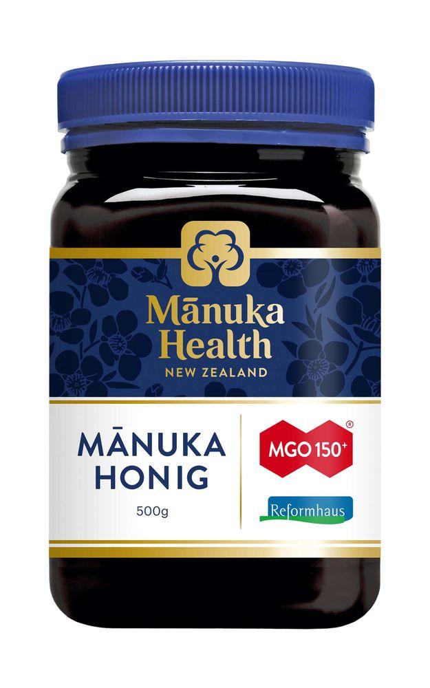 Manuka Health - Manuka Honig MGO 150+ 500g - Reformhaus Edition