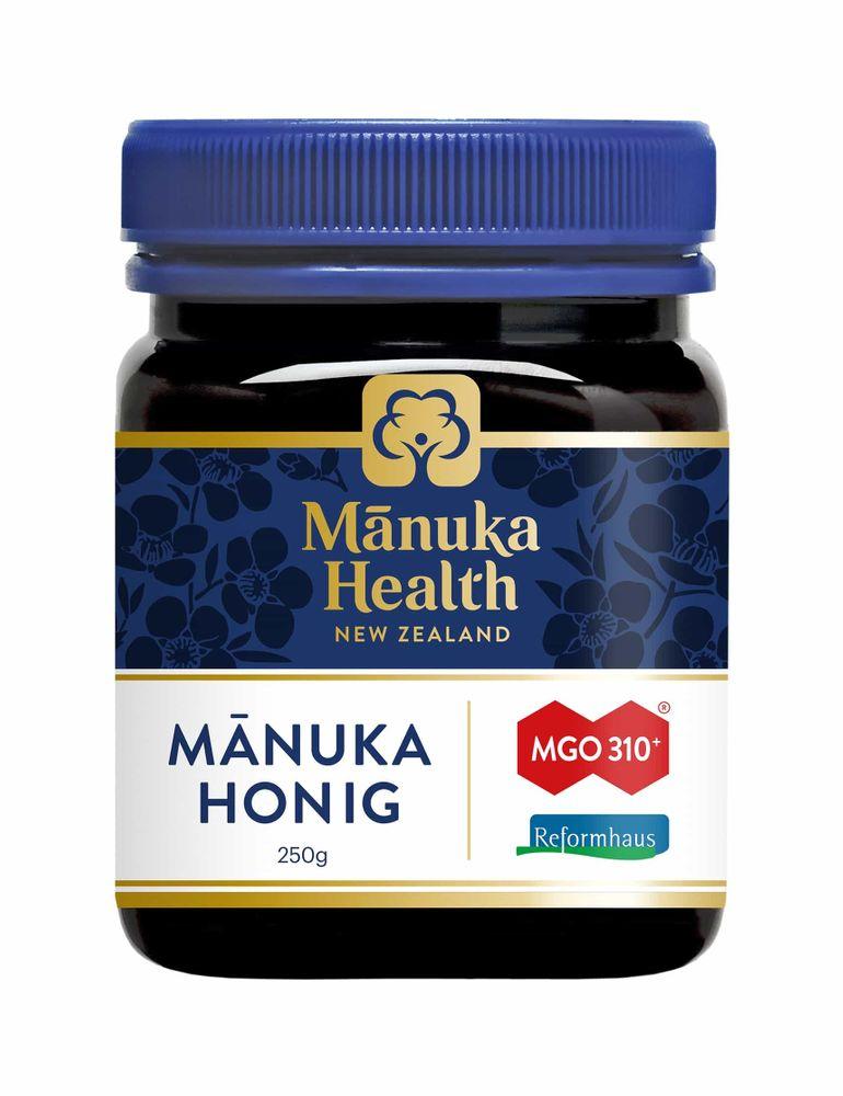 Manuka Health - Manuka Honig MGO 310+ 250g - Reformhaus Edition