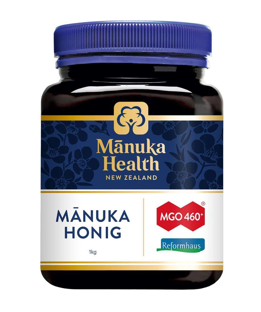 Manuka Health - Manuka Honig MGO 460+ 1000g - Reformhaus Edition