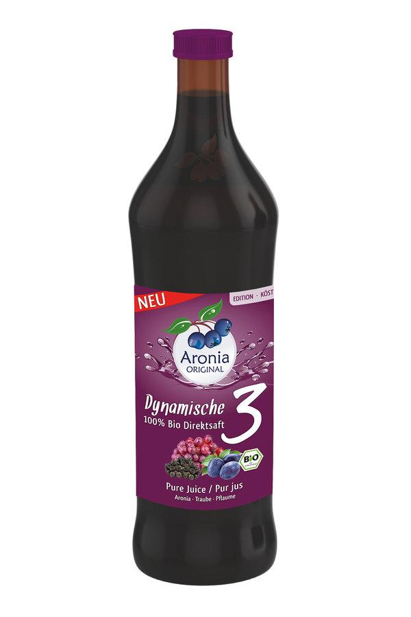 Aronia Original - Dynamische 3 Bio-Direktsaft 700ml
