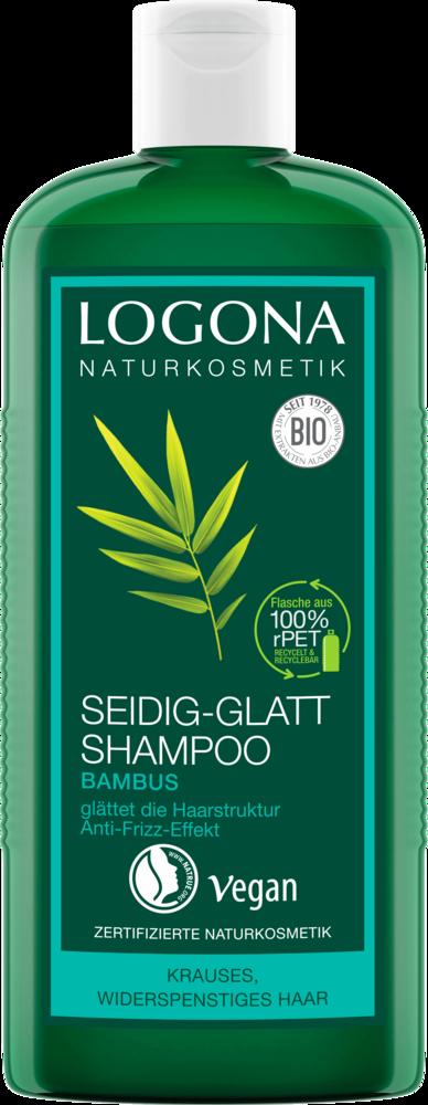 Logona - Seidig-Glatt Shampoo Bambus 250 ml