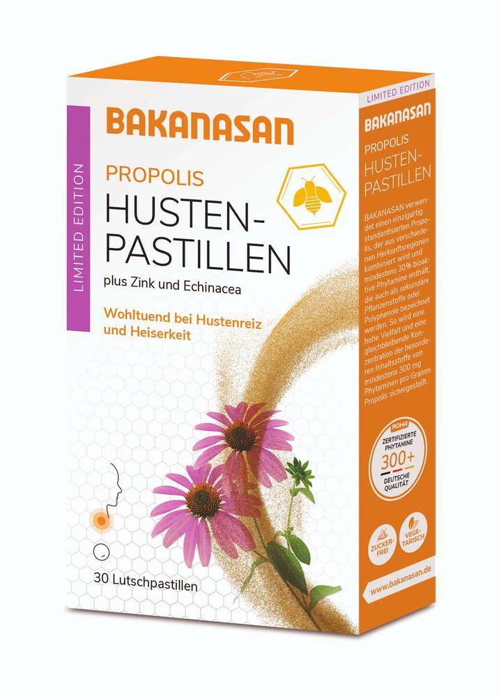 Bakanasan - Propolis Husten-Pastillen Limited Edition 30 St.