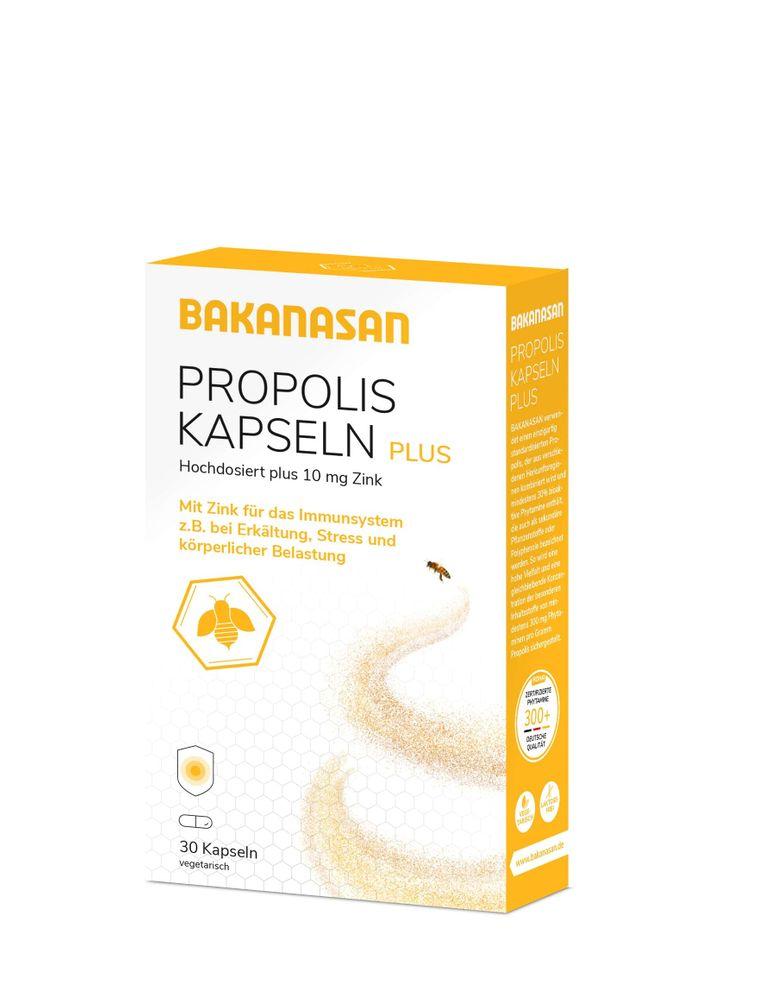 Bakanasan - Propolis Kapseln Plus 30 St.
