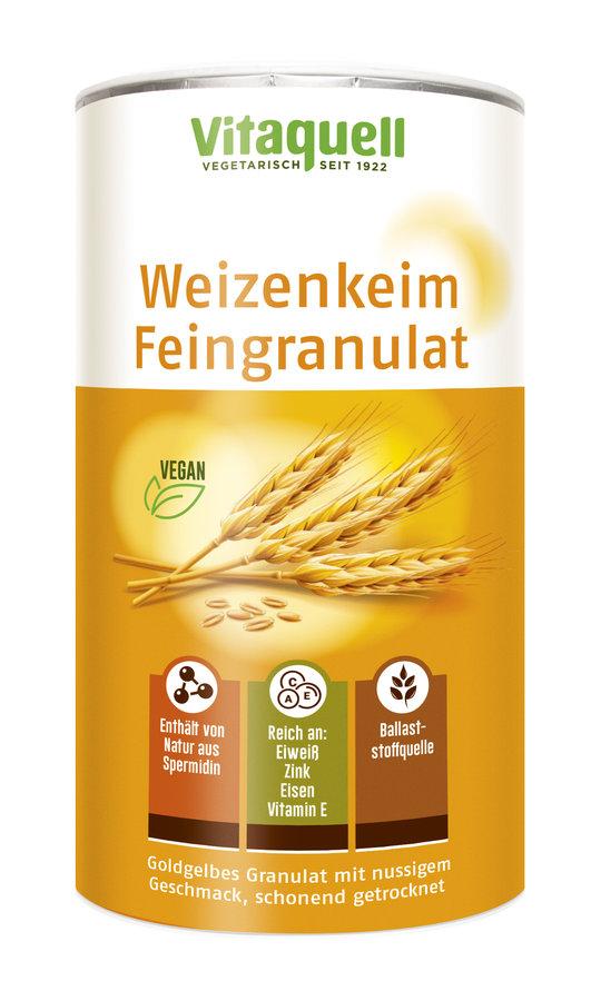 Vitaquell - Weizenkeim Feingranulat 250g