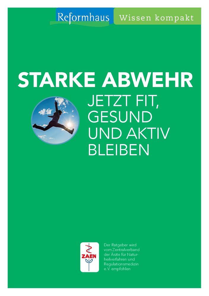 """Reformhaus - Wissen kompakt """"Starke Abwehr"""""""