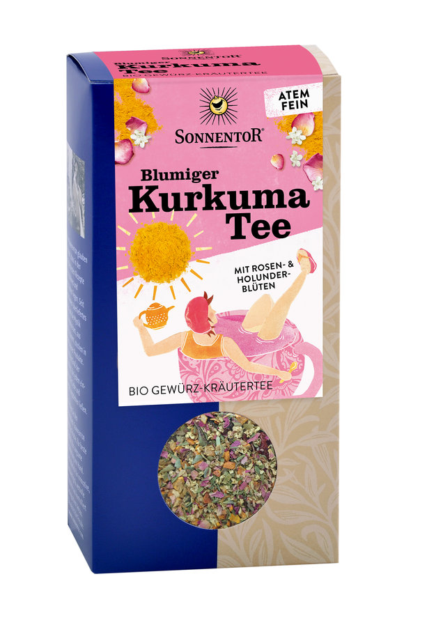 Sonnentor - Blumiger Kurkuma Tee lose bio 100g