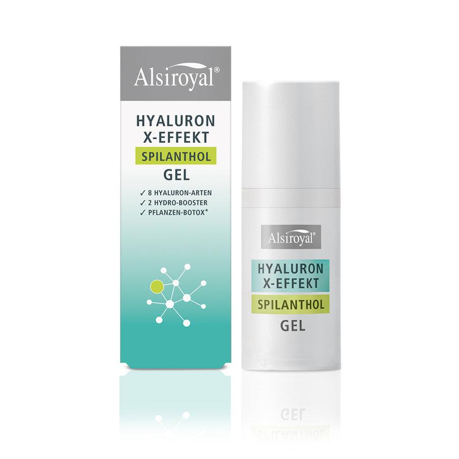 Alsiroyal - HYALURON X-EFFEKT Spilanthol Gel 30ml