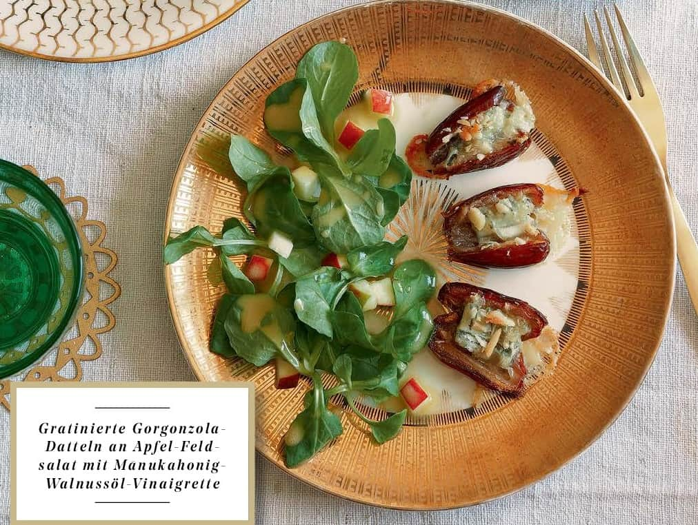 [Paket] Gratinierte Gorgonzola-Datteln - Rezept - Zutatenbundle