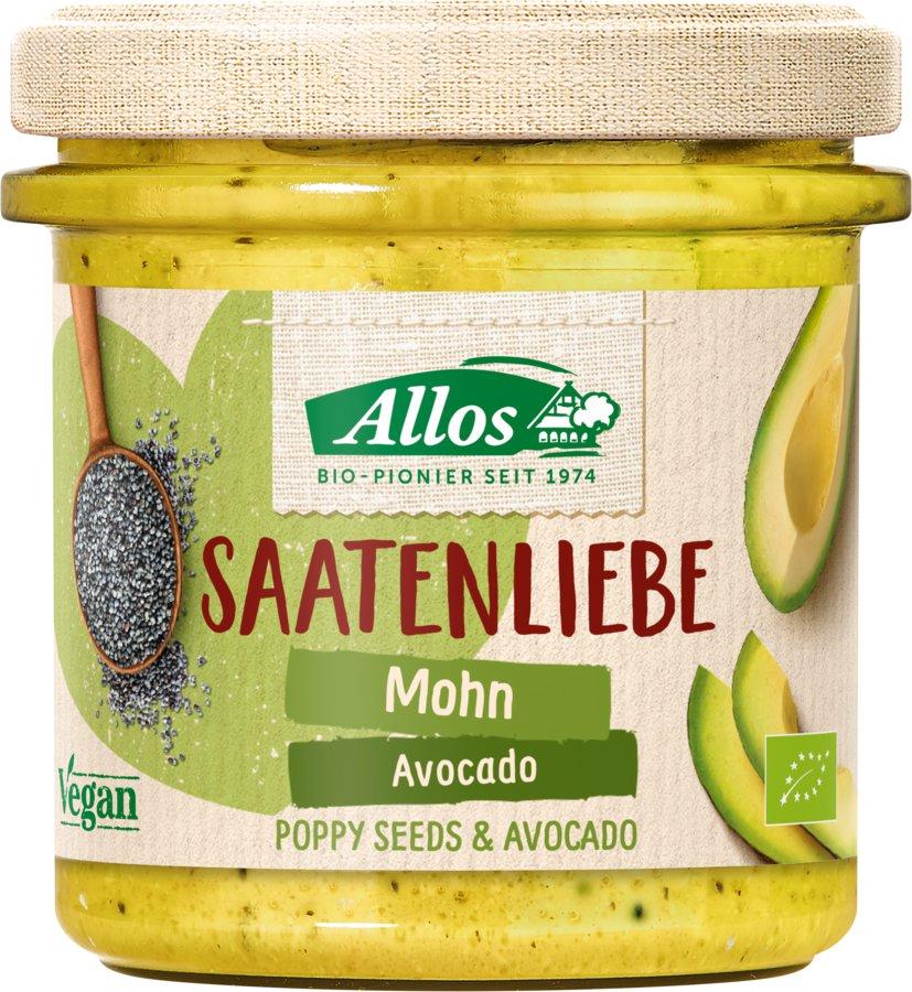 Allos - Saatenliebe Mohn Avocado bio vegan 135g