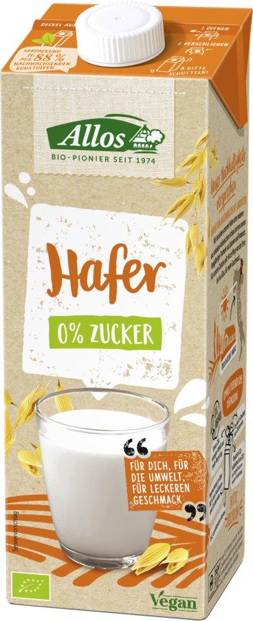Allos - Hafer 0% Zucker Drink bio 1 L