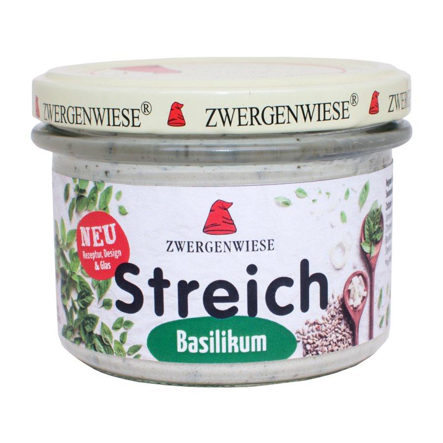 Zwergenwiese - Basilikum Streich Bio Vegan 180g