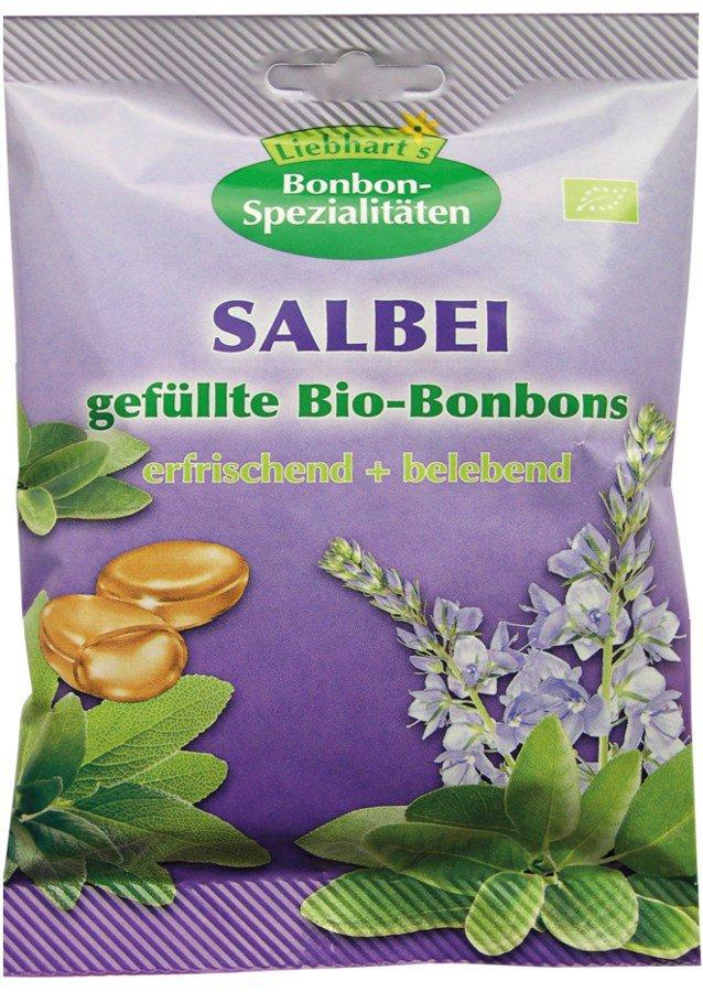 Liebhart´s Gesundkost - Salbei gefüllte Bio-Bonbons 100g