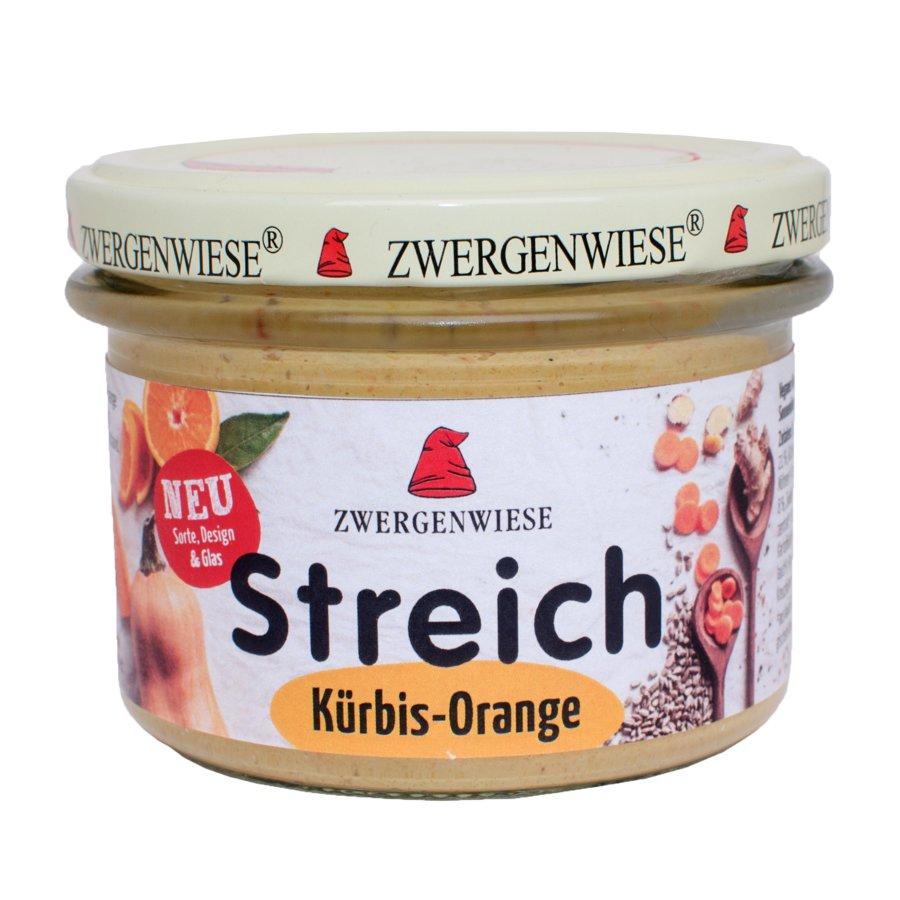 Zwergenwiese - Kürbis Orange Streich Bio Vegan 180 g