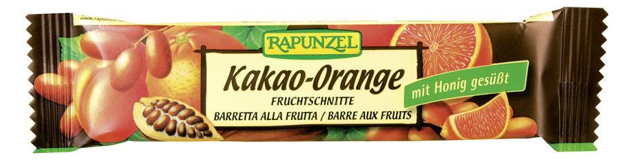 Rapunzel - Fruchtschnitte Kakao-Orange bio 40g