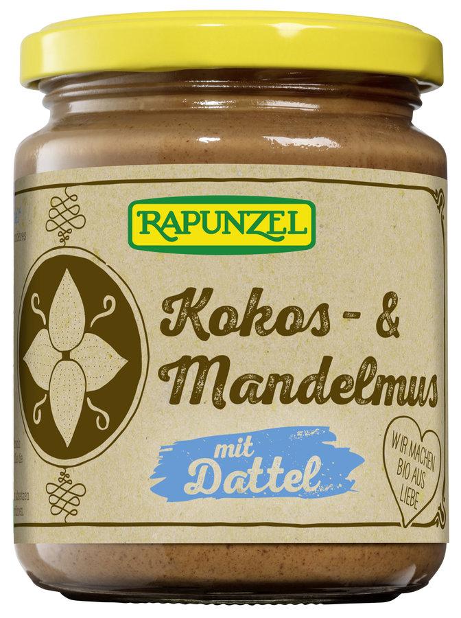 Rapunzel - Kokos- & Mandelmus mit Dattel bio 250g