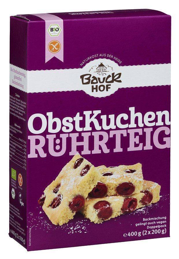Bauck - Obstkuchen Rührteig glutenfrei Bio 400g