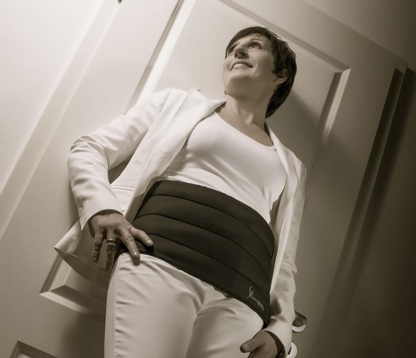 SlimCOOL Waistbelt tragen, durch angenehme Kühlung am Bauch abnehmen