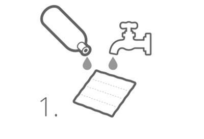 Mit Wasser am Wasserhahn Kühlung aktivieren