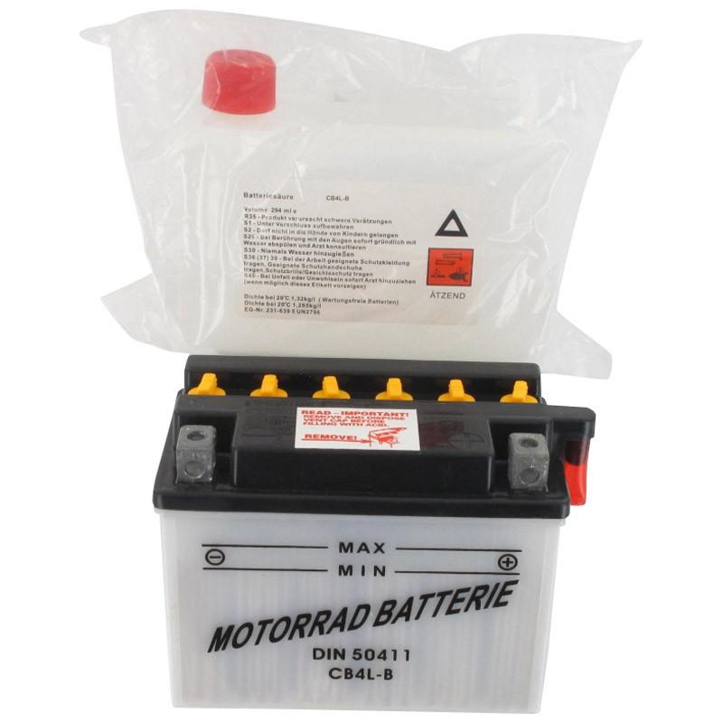 YUASA Starterbatterie YB4L-B 12V 4Ah 31500-104-000