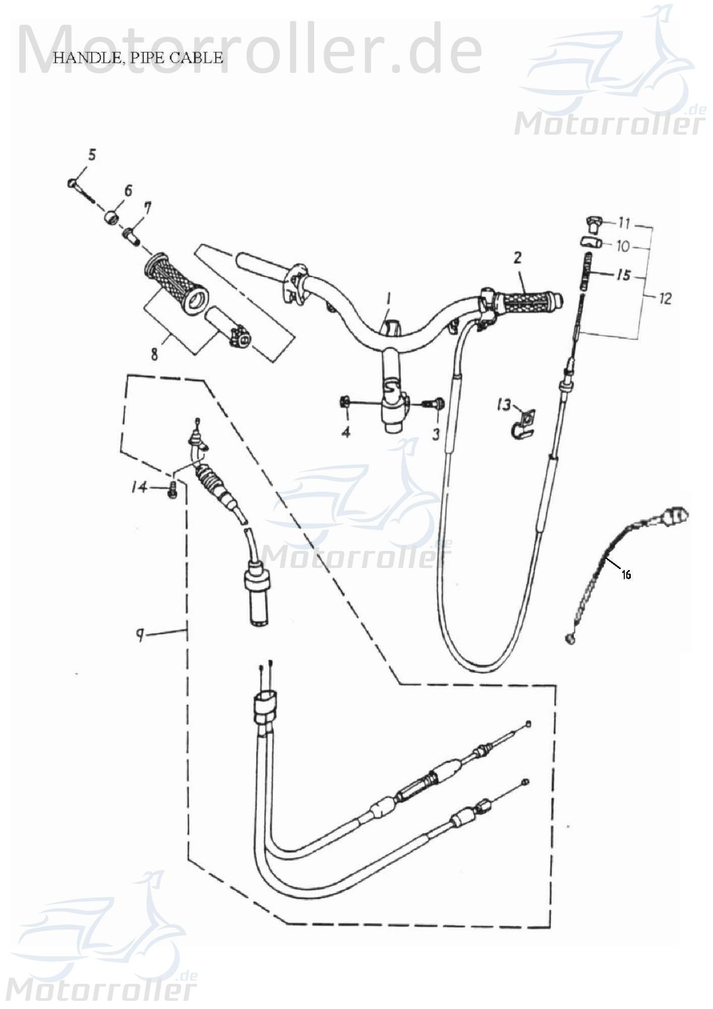 Chokezug ABR-17950-116-001
