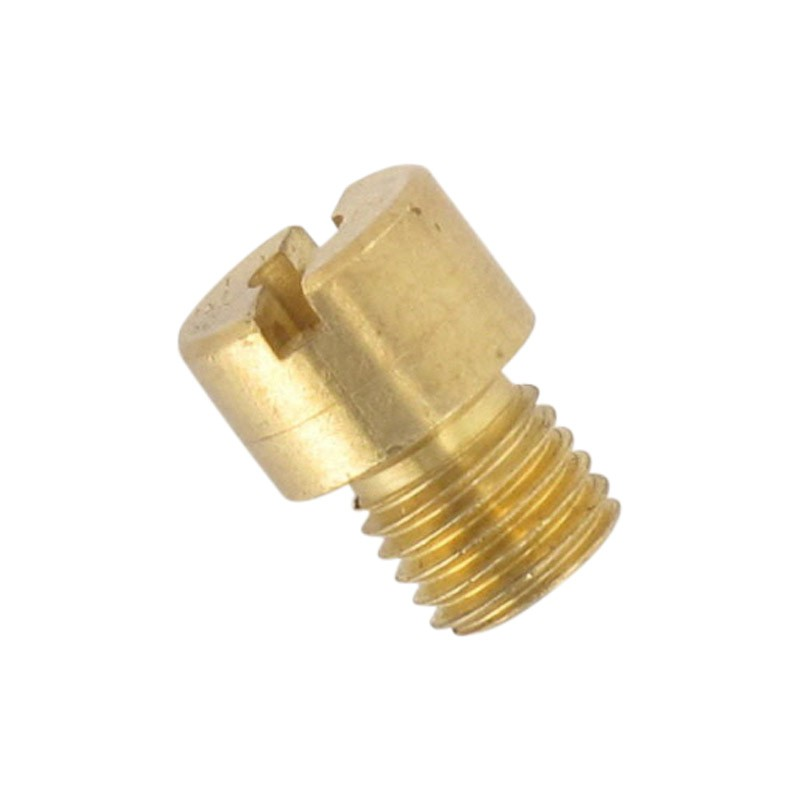 Ugello del carburatore Pacchetto di 10pcs carburatore Main Jet M6 M5 6 millimetri 5 millimetri filetto for DellOrto BGM Motoforce carburatore dellugello delliniettore Dimensioni 50-200