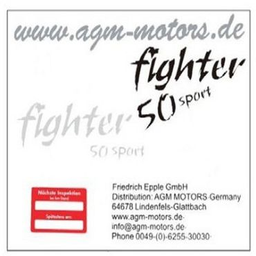 Dekoraufkleber Fighter 50 Sport 2Takt 1220301-16