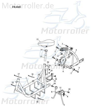 Rahmen komplett 50100-165-00D