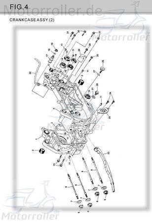 Dichtung Kurbelgehäuse M150-1003019