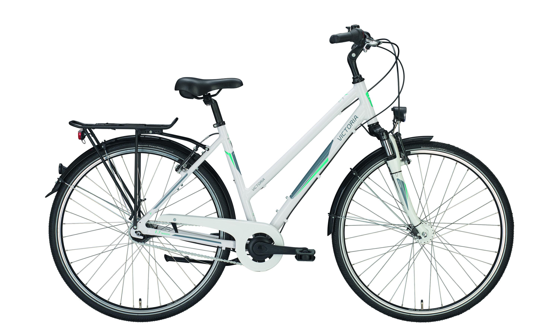 Fahrrad Victoria  1.4/1.7 28'' weiß/lime RH 45