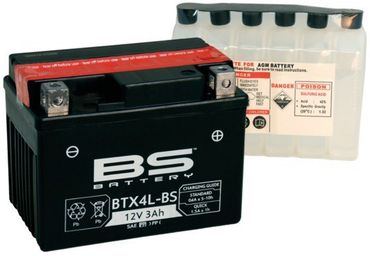 Batterie Power Starter 12V 4Ah BTX4L-BS 139QMB 5379987