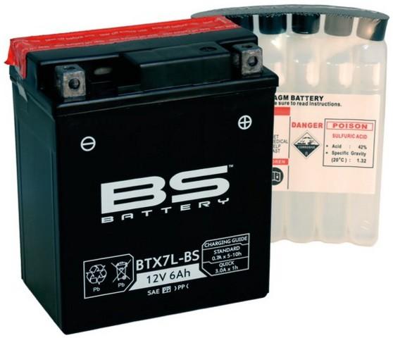 Batterie BTX7L-BS 12V 6Ah 0,33 Liter DIN 5379946
