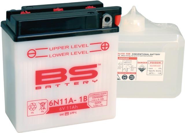 Batterie 6N11A-1B 6V 11Ah inkl. Säurepack 5379078