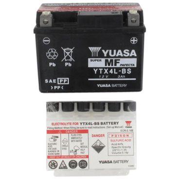 Batterie Power Starter 12V 3Ah BTX4L-BS 139QMB ALG-YU-065039
