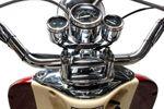 Znen Retro ZN50QT-H Roller Mokick 45 km creme/burgunder Euro 4 001