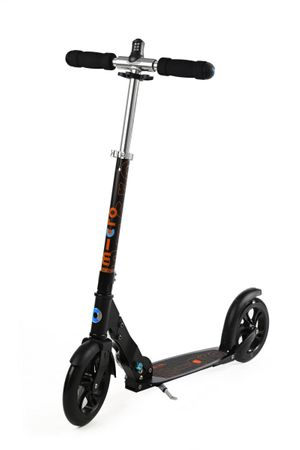 Tretroller Cityroller Cityboard Black Interlock