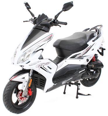 Matador JJ50QT-17 Motorroller Mofa 25 km/h weiß Euro 4