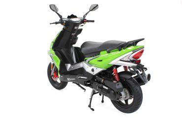 Matador JJ50QT-17 Motorroller Mofa 25 km/h grün/schwarz Euro 4