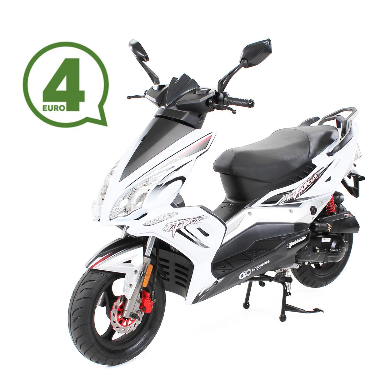 Matador JJ50QT-17 Motorroller Mokick 45 km/h weiß Euro 4