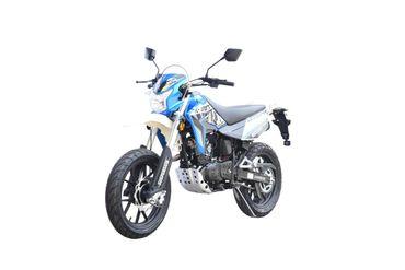 K-Sport Motard 125 AC Motorrad Euro 4 blau/weiß