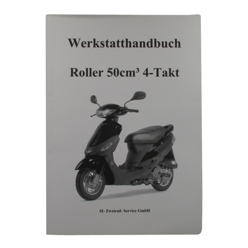 werkstatthandbuch roller 50ccm 4takt. Black Bedroom Furniture Sets. Home Design Ideas