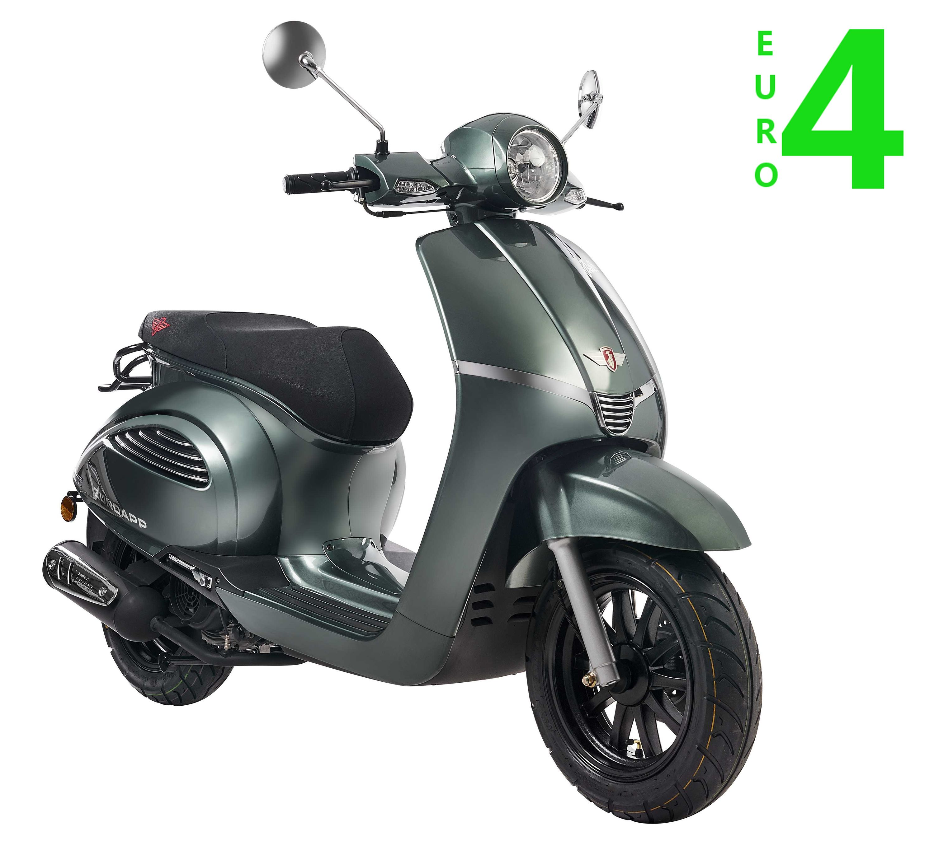z ndapp bella r 125ccm motorroller petrol euro 4. Black Bedroom Furniture Sets. Home Design Ideas