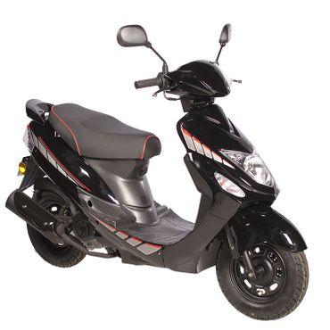GMX 460 Sport Roller Scooter 45 km/h schwarz Euro 4