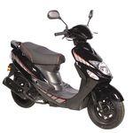GMX 460 Sport Roller Scooter 25 km/h schwarz Euro 4 001