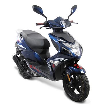 Fighter R8-50 Sport 45 km/h dunkelblau Motorroller Roller Scooter