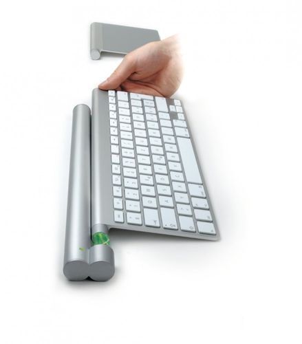 Mobee Technology Magic Bar Akku kabellos laden für Apple Keyboard/Trackpad