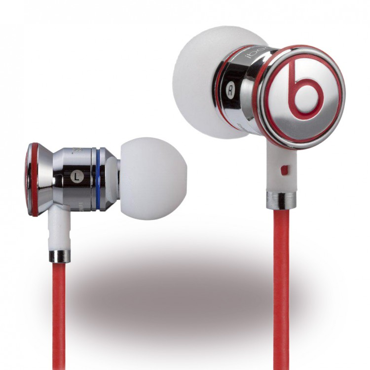 Beats by Dr. Dre Monster - In Ear Ohrhörer Headset iBeats für iPhone iPad iPod in weiss