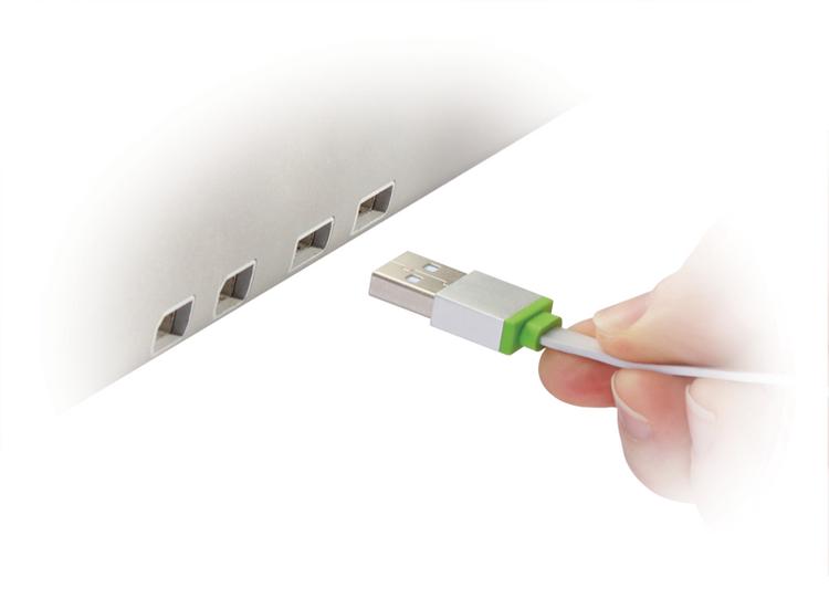 Mobee Magic Lade Daten Kabel USB zu Lightning 1m für iPhone / iPod / iPad