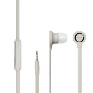 HTC Headset RC-E190 In-Ear Ohrhörer Flachkabel 3,5mm weiss